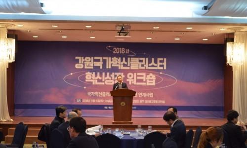 강원국가혁신클러스터 혁신성장워크숍 개최
